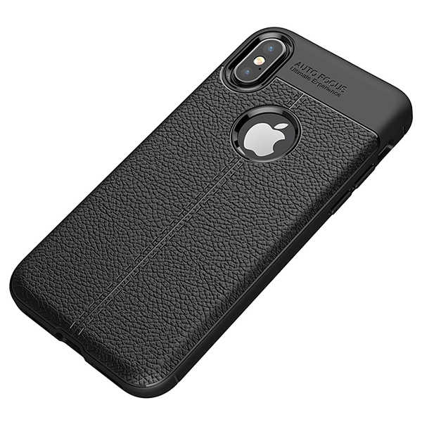 iPhone X litchi pattern TPU case.jpeg