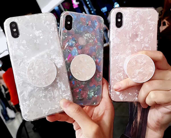 coque iPhone Xs avec support de support d'extension airbag.jpg